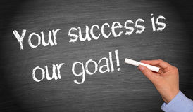 Your success is our goal Stock Photo